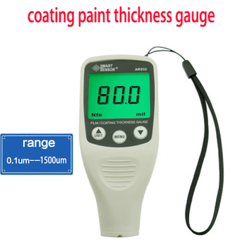 AR932 Digital Coating Thickness Gauge with Measurement Range 0~1500um Paint Coating Thickness Gauge Meter Tester