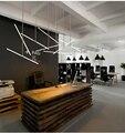 T Bar Lâmpada balcão de Recepção do Norte da Europa Moderna Criativo Para A Loja Do Hotel Escritório de Engenharia Lâmpada Luz Moda