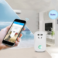 4pcs Sonoff Smart Home Charging Adapter S20 Wireless Smart Switch WIFI Home Automation Power Socket By