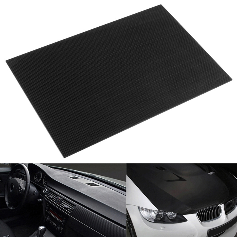 New 100% Real glossy Carbon Fiber Plate Panel Sheet 3K Plain Weave 230*170mm -B116 1sheet matte surface 3k 100% carbon fiber plate sheet 2mm thickness