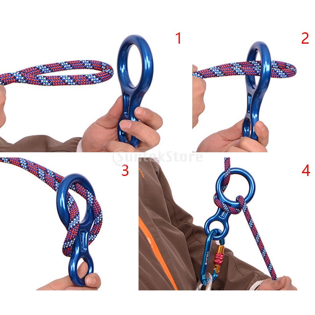 35kn figure 8 climbing descender rappelling ring abseil belay 35kn figure 8 climbing descender rappelling ring abseil belay device 25kn carabiner d ring screw locking snap hook screwgate in climbing accessories from 1betcityfo Choice Image