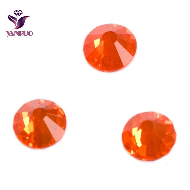 YANRUO 2058NoHF Hyacinth Color Stones All Sizes Non Hotfix Glue on Flatback  Rhinestones 05f9e82ed4e3