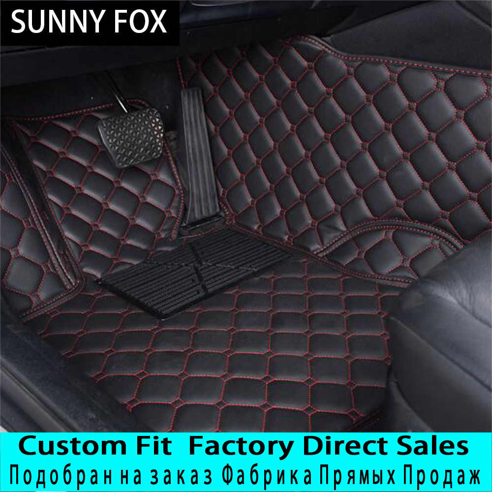 SUNNYFOX Car floor mats for Mazda 3/6/2 MX-5 CX-5 CX-7 5D car-styling heavy duty all weather protection carpet floor linerSUNNYFOX Car floor mats for Mazda 3/6/2 MX-5 CX-5 CX-7 5D car-styling heavy duty all weather protection carpet floor liner