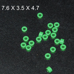 20pcs Ferrite Core EMI Filter 7.6X3.5X4.7mm Ferrite Ring Anti-Parasitic Toroide Toroidal Bead Coil Ferrites Ferrous Suppression