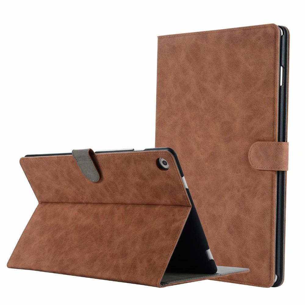 Stand Cover Case for Huawei Mediapad M5 10.8 CRM-AL09 CRM-W09 Retro PU Leather Case for Huawei MediaPad M5 10 Pro Tablet цена