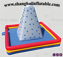 hot product 7.5m height inflatable climbing walls inflatable climbing entertainment