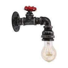 Loft Industrial iron rust wall lamps Vintage LED lights