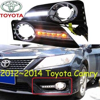 LED 2012~2014y car bumper headlight Camry daytime Light aurion car accessories  head light Camry fog light