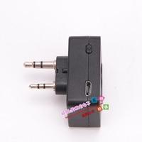 מכשיר הקשר מכשיר הקשר אוזניית Bluetooth K / M סוג מיני אוזניות כף יד שני הדרך רדיו אלחוטי אוזניות עבור מוטורולה Baofeng 888S UV5R (4)
