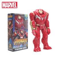 Brinquedos 29 cm the Avengers Hasbro Marvel INFINITO GUERRA Hulk TITAN HERÓI SÉRIE Hulkbuster Figuras de Ação PVC Modelo Figura Toys
