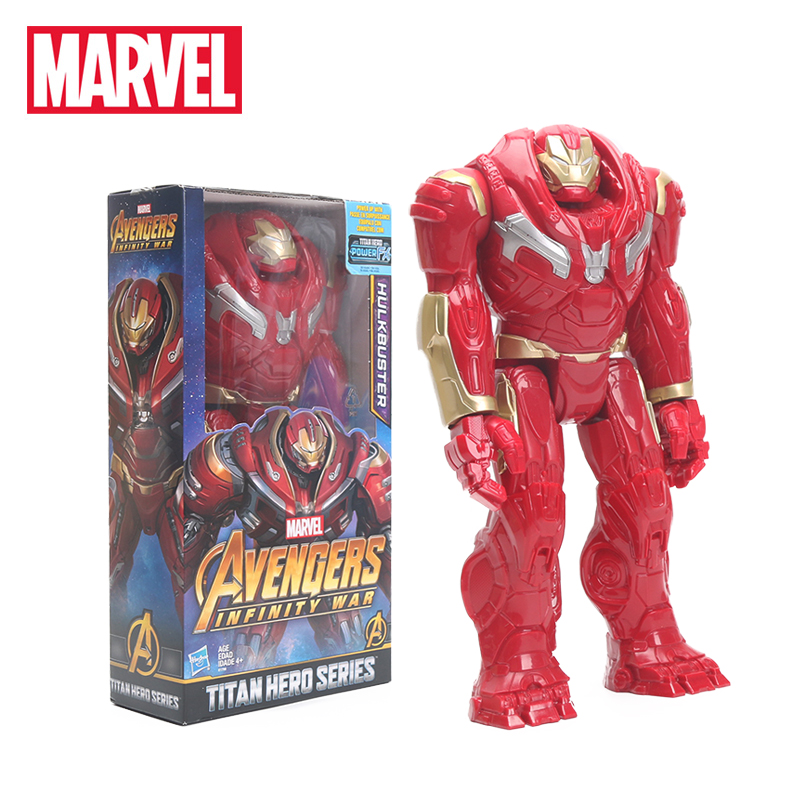 Hasbro Marvel Toys 29cm the Avengers  INFINITY WAR Hulk Hulkbuster PVC Action Figures TITAN HERO SERIES Figure Model Toys ...
