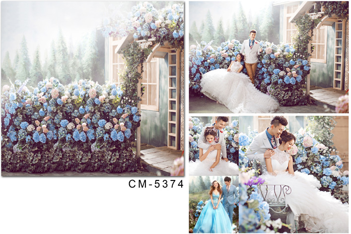 Spring Garden Photography Backgrounds Vinyl cloth High quality Computer printed wedding photo backdrop цены