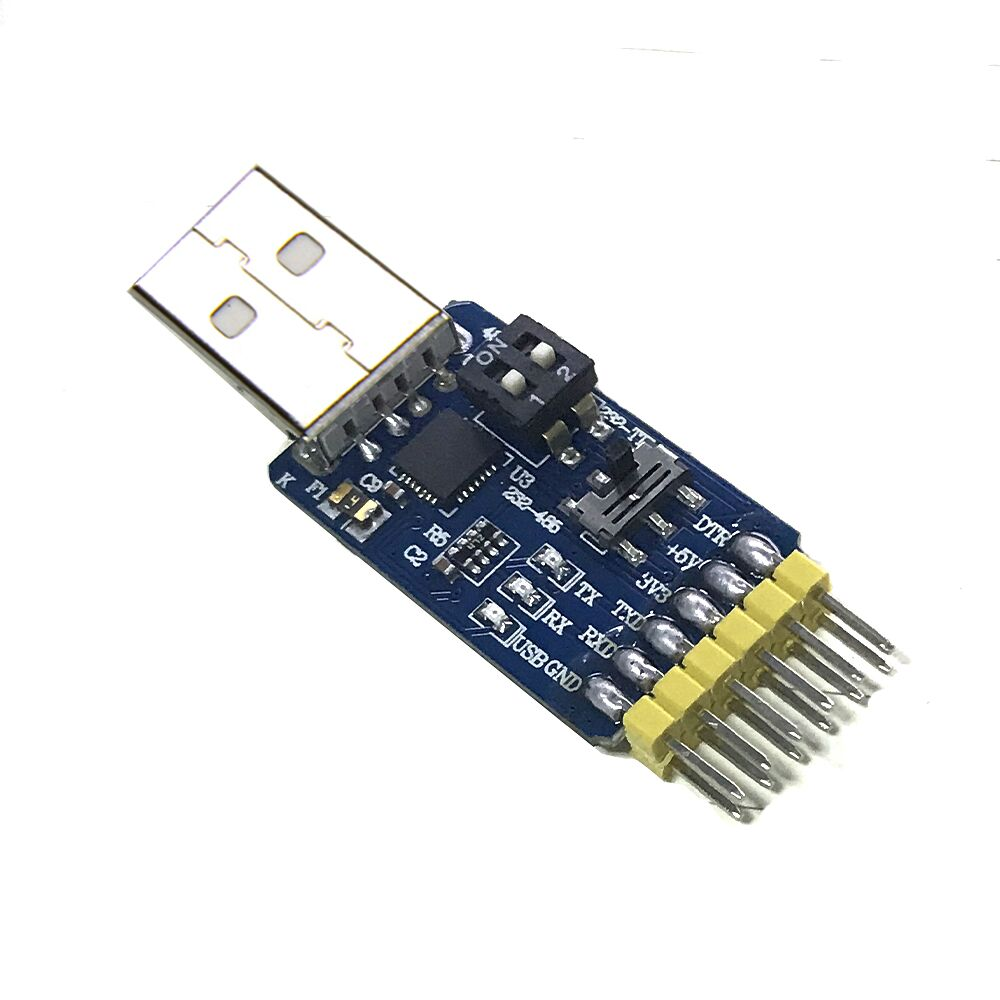6in1 USB to TTL UART 485, 232 Multi-function Serial Interface Module CP2102 for arduino Module development board image
