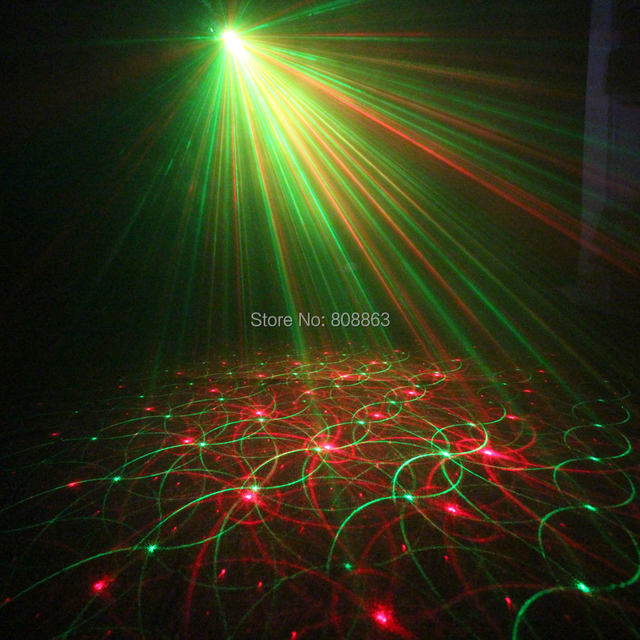 Online Shop Mini R&G Laser 4 Patterns projector Club Bar Dance Disco ...