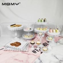 11 Pcs Wedding Cupcake Set Tray Dessert Metal White 2 Tier Revolving Pink Unique Cake Stand