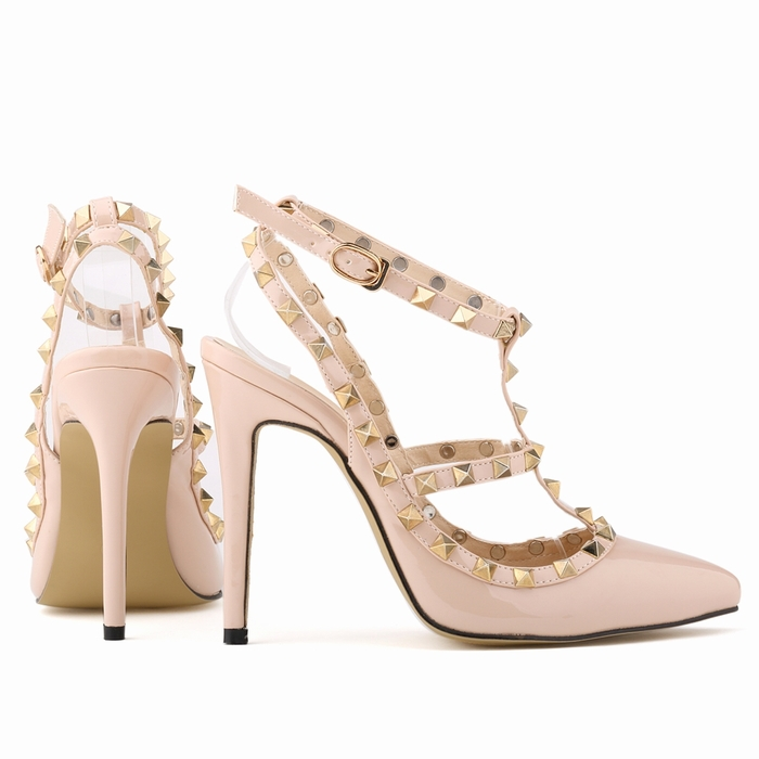 0bb49fbfa6 LOSLANDIFEN Free shipping women pumps stiletto fashion sexy hollow ...