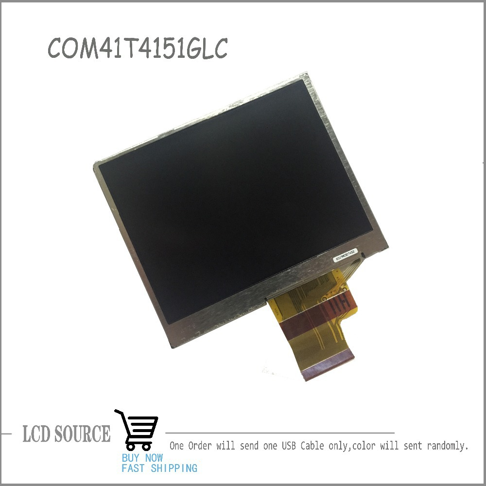 OEM LCD Screen For COM41T4151GLC 8C41MC501452 080211-4129B LCD Module Wristwatch Replacement Parts