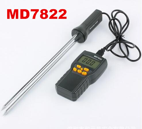 MD7822 LCD Display Digital Grain Moisture Meter Humidity Tester Contains Wheat Corn Rice Test Hygrometer 50% off digital tester 3in1 multifunction temperature humidity time lcd display monitor meter for car indoor outdoor greenhouse etc
