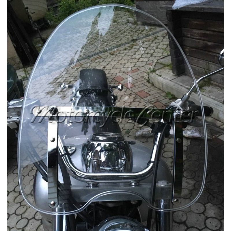 Clear Windscreen Windshield For 1969 2018 Suzuki Boulevard C50 C90 M50 M90 S40 S50 S83 Intruder