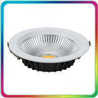 3 años de garantía 100-110LM/W 7 W LED Downlight LED COB Down luz regulable empotrable techo punto bombilla iluminación