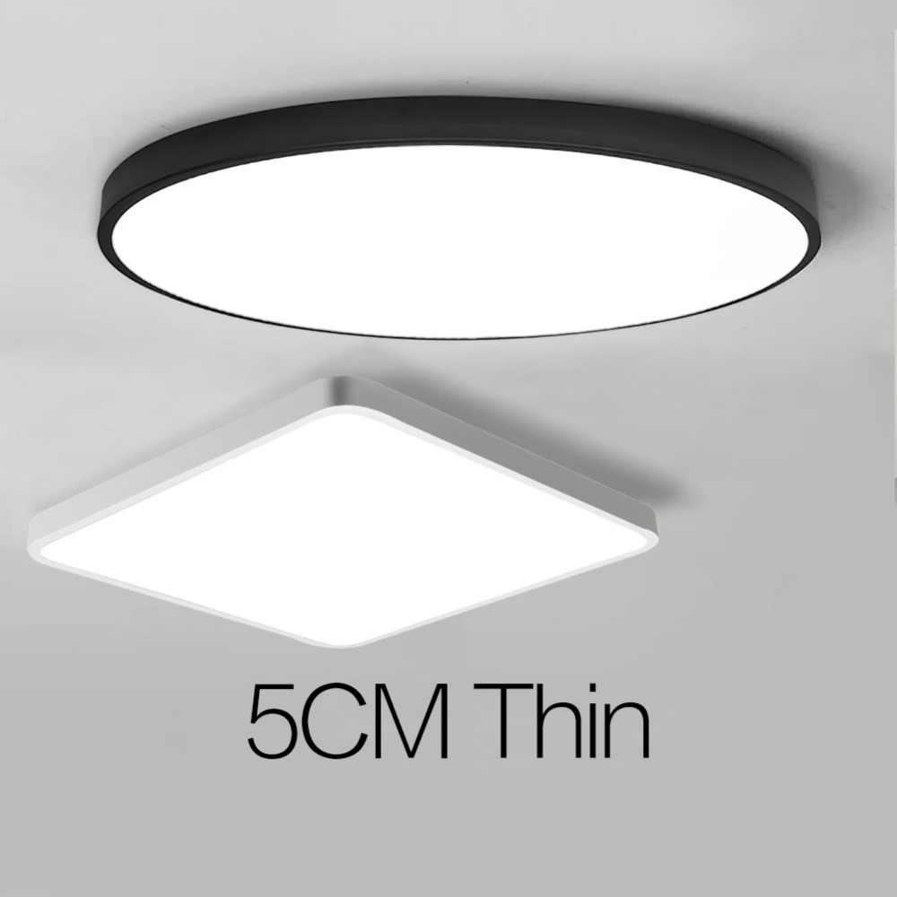 Modern Led Ceiling Light Dimmable Panel Lamp Lighting Fixture Living Room Bedroom Kitchen Surface Mount Flush Remote Control Ceiling Lights & Fans Back To Search Resultslights & Lighting