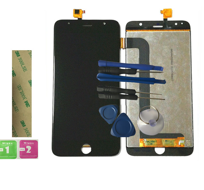 RYKKZ For TFP0551431A Touch Screen With QPWBM1568TPZZ LCD Display Digitizer Assembly Replacement With Tools With 3M StickerRYKKZ For TFP0551431A Touch Screen With QPWBM1568TPZZ LCD Display Digitizer Assembly Replacement With Tools With 3M Sticker