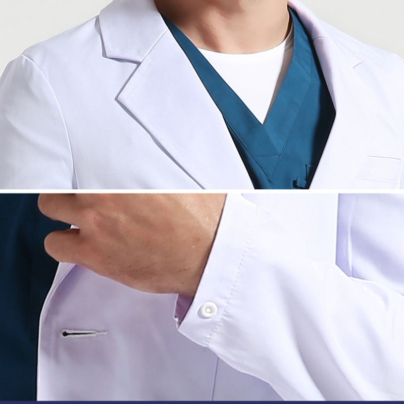 """Lab laboratory dr doctors white coat 48/"""" chest only"""
