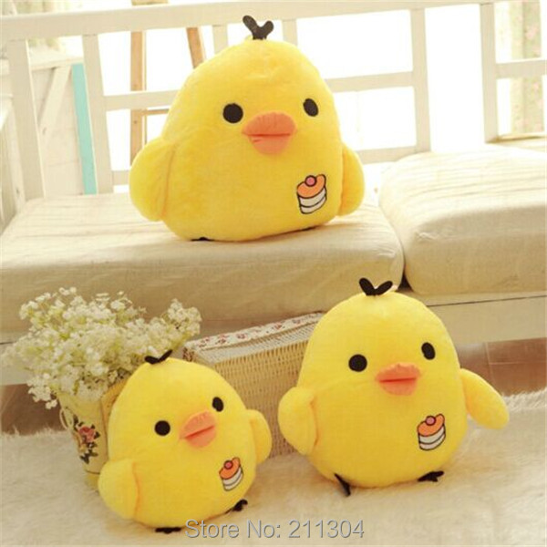 ce7821d1967b Free shipping Kii Little Chicken plush toy 1 Pc Retail 3 sizes Rilak bear  friend ro warm stuffed animals kuma kids gifts