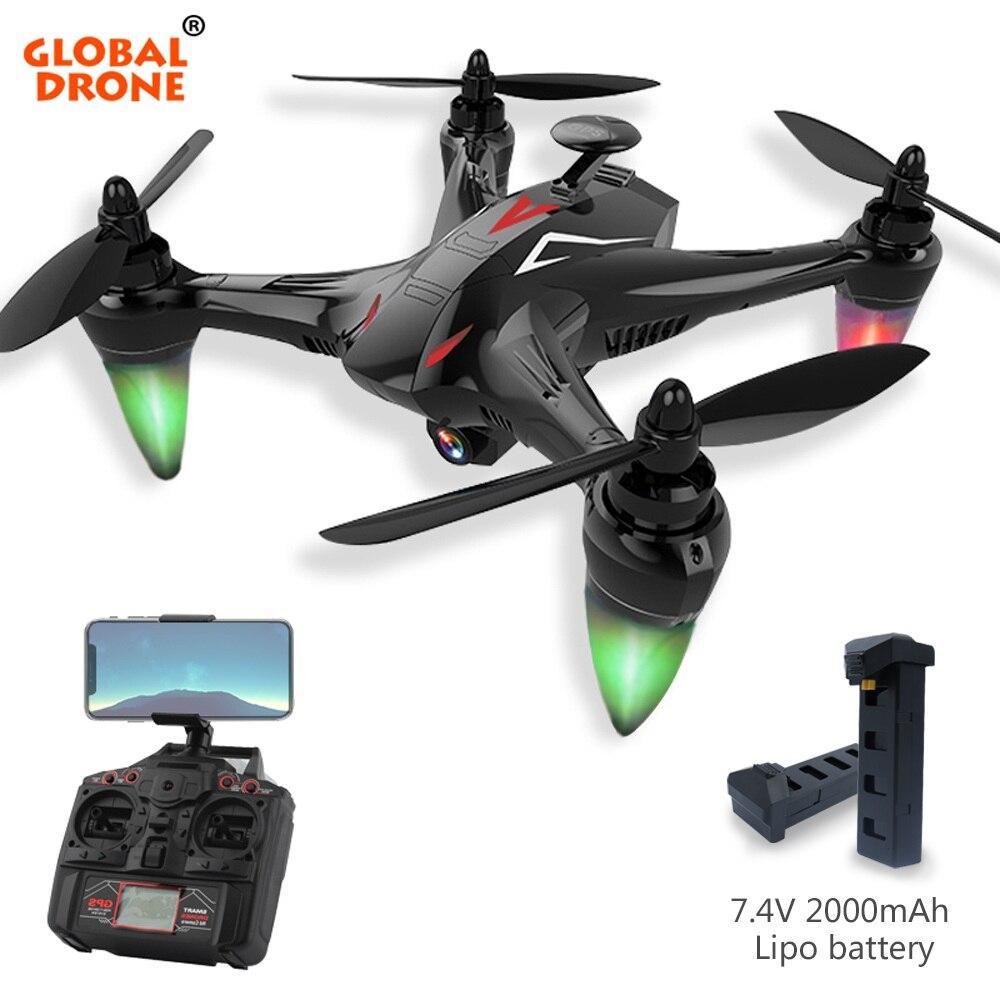 Глобальный Drone Ray Long Range дистанционного Управление Авто следовать режим 5 г Wi Fi FPV gps долгое время летать Quadcopter с камера HD 1080 P