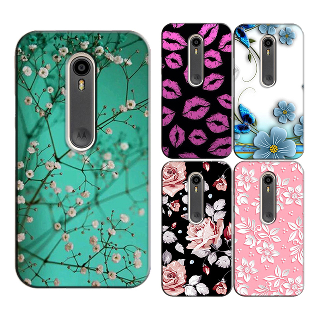 official photos 38af6 73ac0 for Motorola Moto G3 (G 3nd) Gen XT1552 XT1541 XT1542 XT1543 Original Phone  Case Printed Back Cover Shell Bag Painting Skin-in Half-wrapped Case from  ...