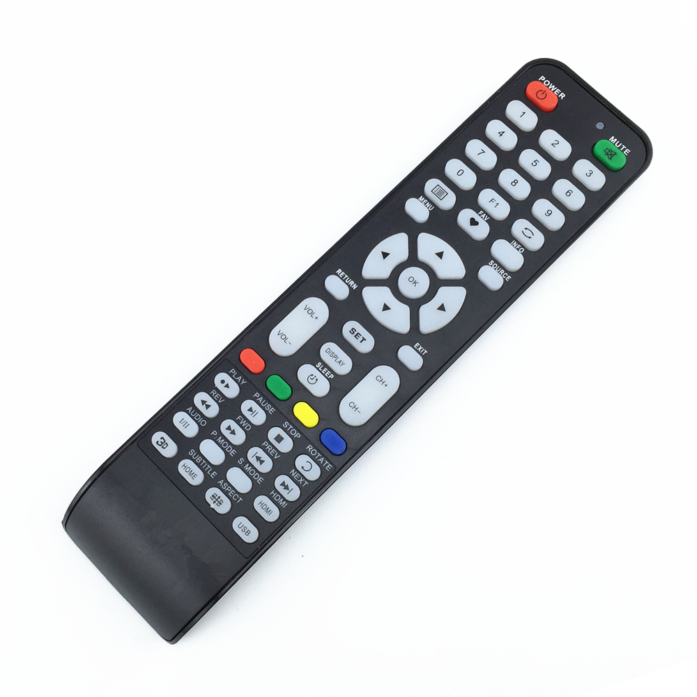 Universal TV Remote Controller For DLC SHOWN CHANGHONG HAIER ECOSTAR POLAROID KONKA SING ...