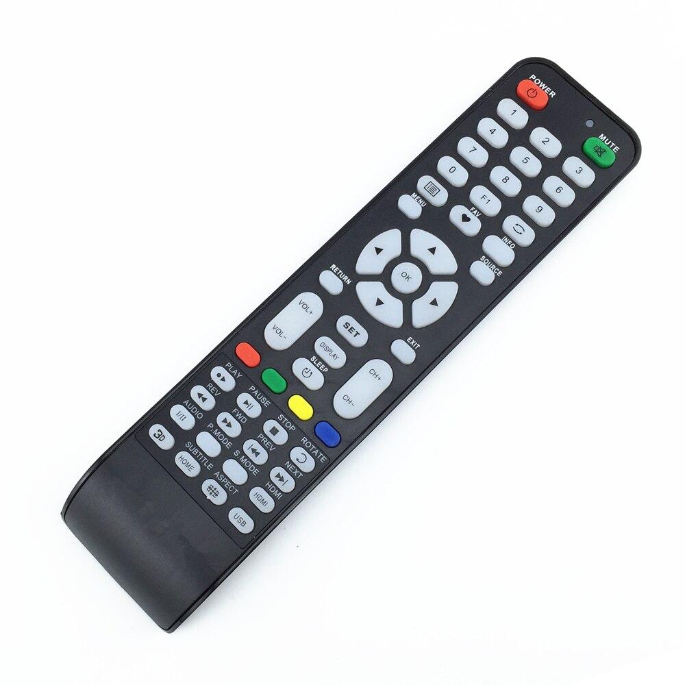 Universal TV Remote Controller For DLC SHOWN CHANGHONG HAIER ECOSTAR POLAROID KONKA SINGER KTC ORIENT HTR-T09 NOBEL AKIRA