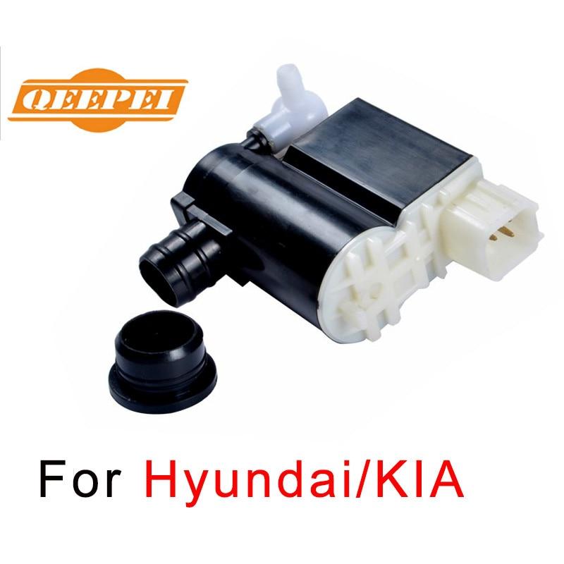 QEEPEI new Windscreen Washer Pump For Hyundai Accent/Santa Fe/Matrix/I30/IX20/Tucson&KIA Headlight Wiper Spray Car 98510-2L100