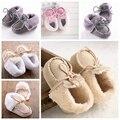Зима Детская Обувь Теплый Хлопок Baby Girl Обувь Мальчики Впервые Ходунки Младенец Новорожденный Bebe Сапоги Пинетки