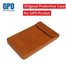 Оригинальный gpd карман защитный кожаный чехол сумка для 7 дюймов Окна 10 Системы umpc мини-ноутбук крышка комплект для gpd карман