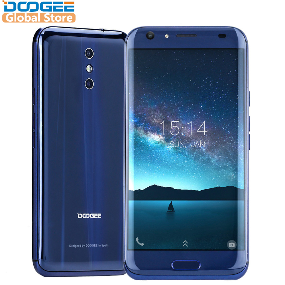 DOOGEE BL5000 Android 7.0 MTK6750T 12V2A Carga Rápida 5050 mAh 5.5 ''FHD Octa Núcleo 64 4 GB RAM GB ROM Dupla Câmera do Smartphone 13.0MP