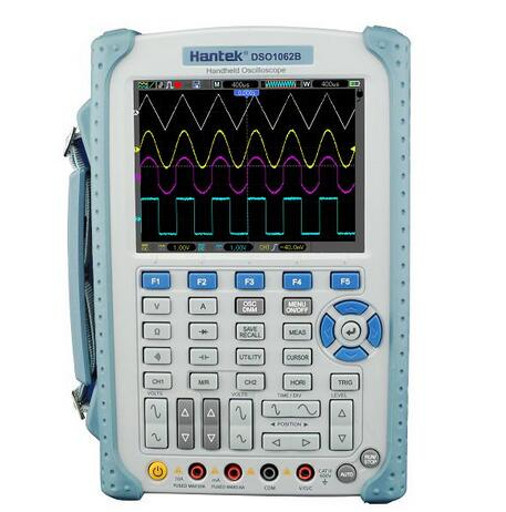 Hantek DSO1062B Handheld Oscilloscope 2 Channels 60MHZ 1GSa/s sample rate 1M Memory Depth 6000 Counts DMM with analog bargraph