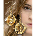 time turner earrings vintage retro rotating hourglass Hermione Granger for women wholesale