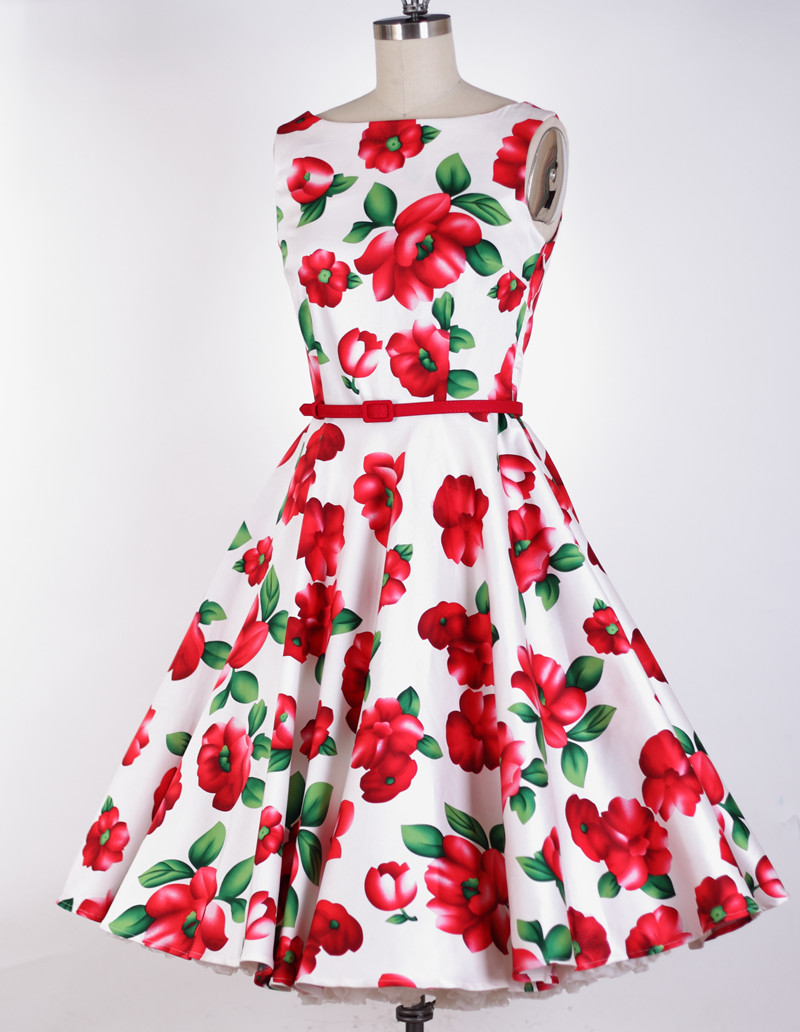 Summer dress clothes 50s style