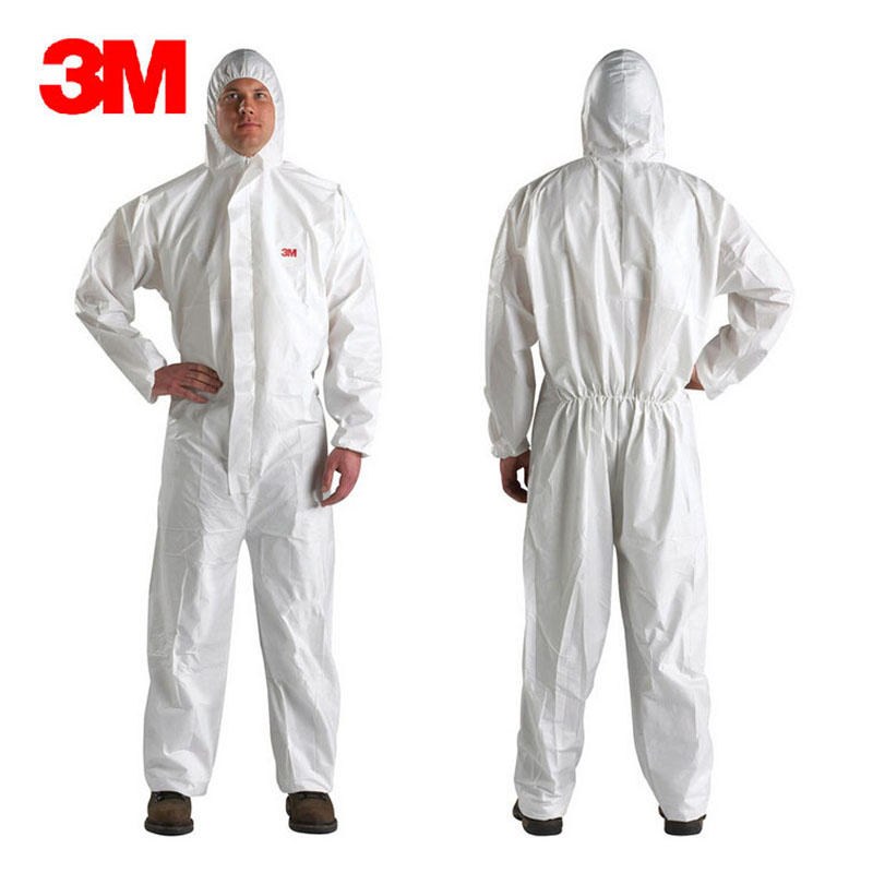 3M 4510 Safety Clothing Chemical Disposable Protective Coverall Hooded Suit Anti Particles/Limited Liquid Chemical splash LT074 коврики в салон novline skoda yeti 03 2009 полиуретан 4 шт nlc 45 10 210kh