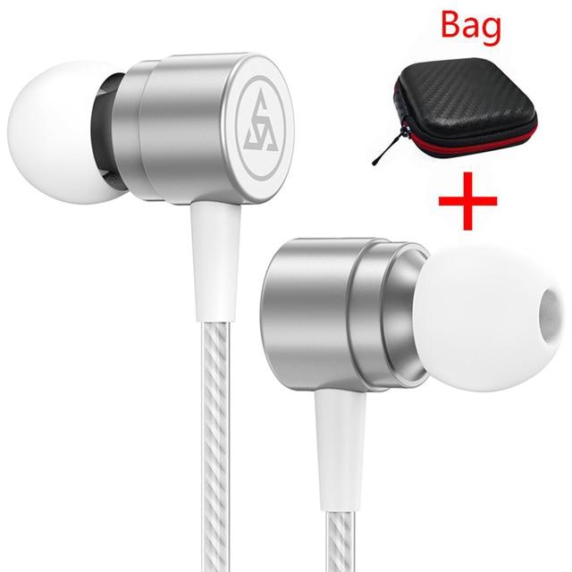 SIMVICT marque écouteur stéréo isolation du bruit casque casque avec Microphone pour téléphone mobile pour Android xiaomi écouteurs
