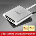 USB3.0 card reader one Android high-speed mobile phone camera TF SD card CF OTG memory card reader