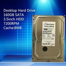 160 ГБ HDD SATA 3.5 дюйма 7200 об./мин. 8 МБ настольный жесткий диск Гарантия 1 год