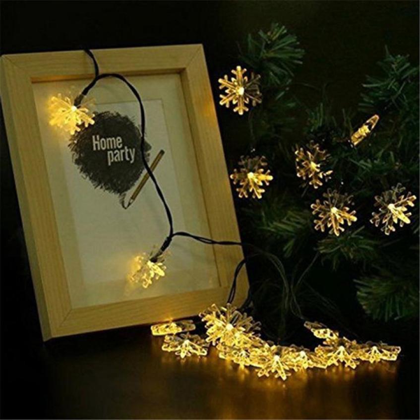 Свадебные украшения Фея 20 LED Окно Шторы огни Строка лампы House Party Декор striking 2017 Горячие Рождественский Шторы свет