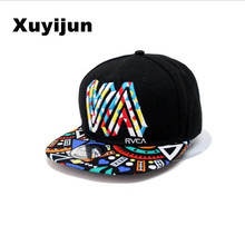 Unique personality color graffiti Snapback Caps Flat Hip Hop Cap Baseball Hat Hats For Men and  woman Snapbacks Casquette