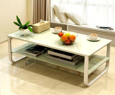 Multi-functional tea table. Toughened glass. Assemble tea table.. american art hardware toughened glass tea table creative tea table rectangular coffee table