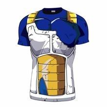 Neueste Dragon Ball Z Vegeta in Schlacht T Shirts DBZ t-shirt Männer Frauen Anime Tees Sommer Tops Fitness t-shirts kleidung