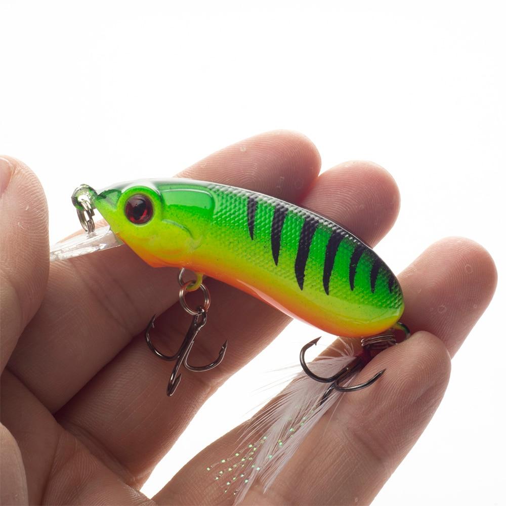 SEALURER New Peshkimi Minow Lure 6cm 10.1g High Quality Floatinging - Peshkimi - Foto 1