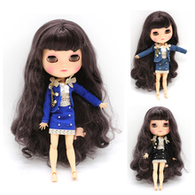 Subcluster 3 Pcs/Set Uniform Skirt Suit Clothes with Bra for 1/6 30cm Blyth Dolls Accessories Doll Cloth