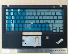 цена на New Original for ThinkPad X1 Carbon 5th Keyboard Bezel Palmrest Cover US Version w/o Touchpad with Fingerprint Hole SM10N01551